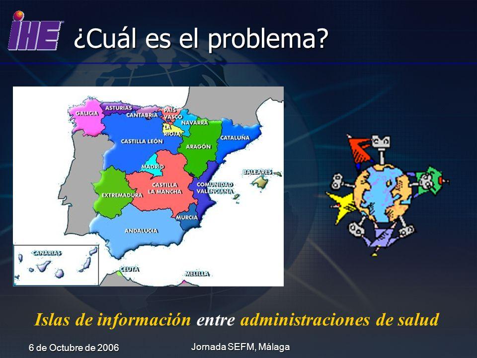 Islas de información entre administraciones de salud
