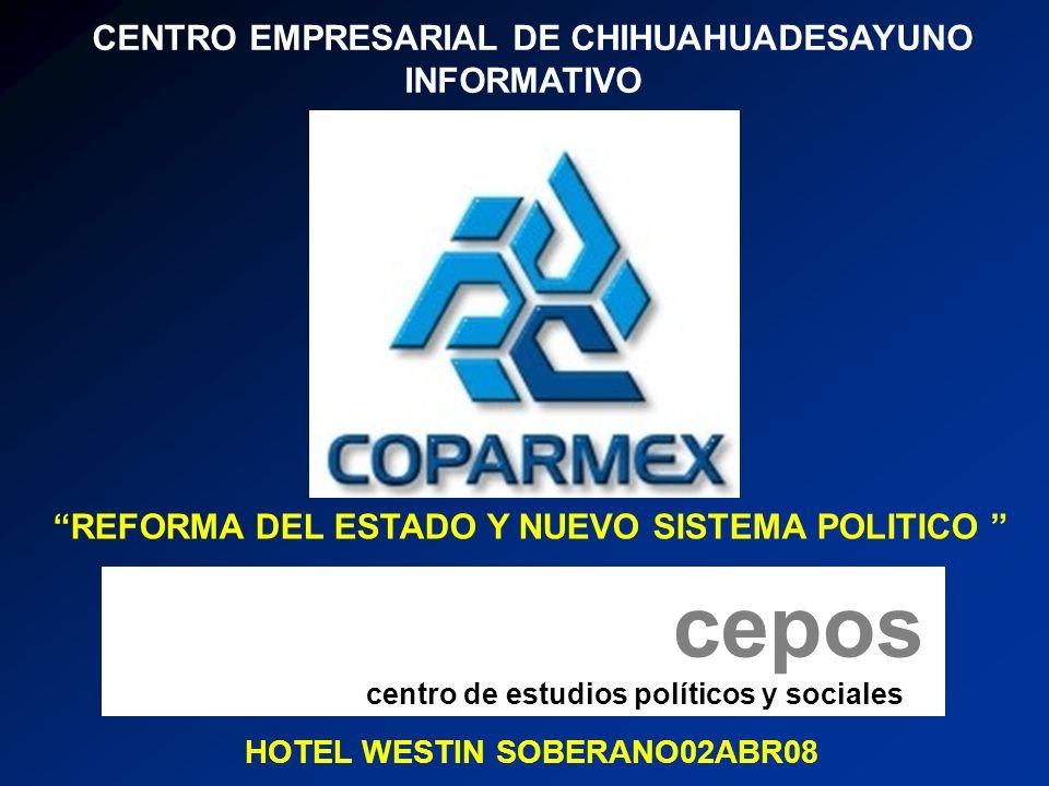 CENTRO EMPRESARIAL DE CHIHUAHUADESAYUNO INFORMATIVO