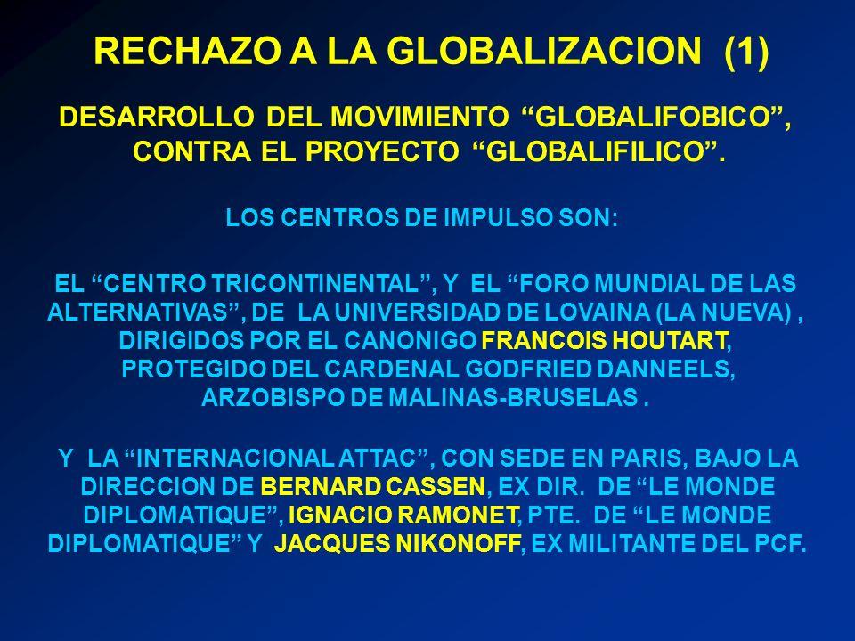 RECHAZO A LA GLOBALIZACION (1)