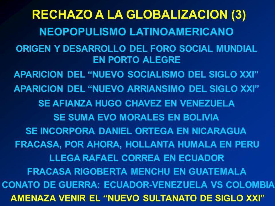 RECHAZO A LA GLOBALIZACION (3)