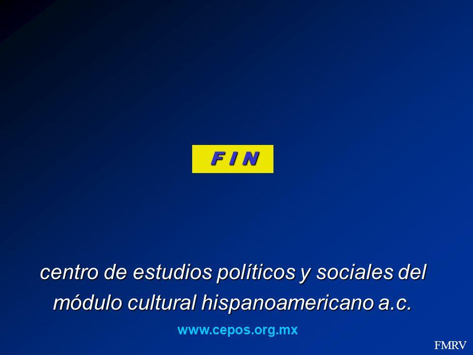 centro de estudios políticos y sociales del