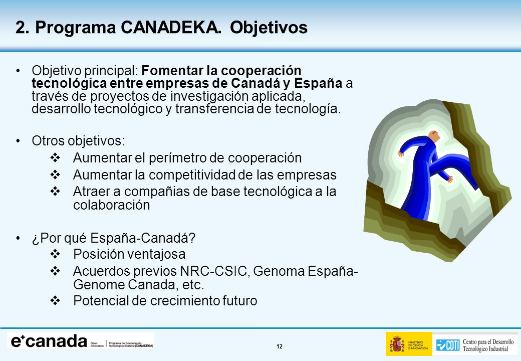2. Programa CANADEKA. Objetivos
