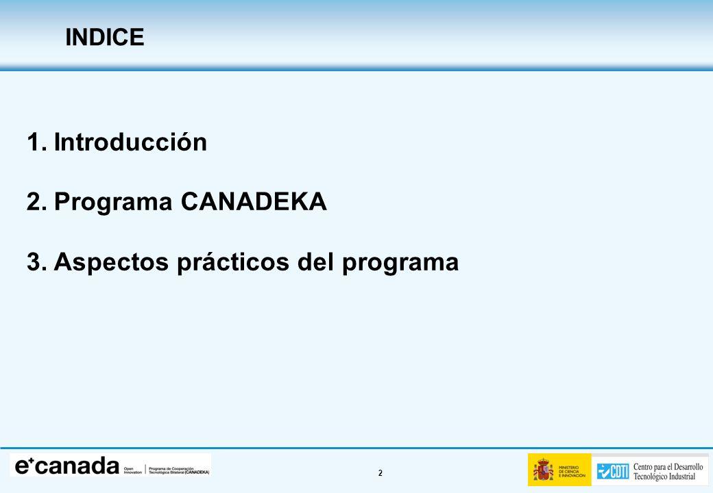 Aspectos prácticos del programa