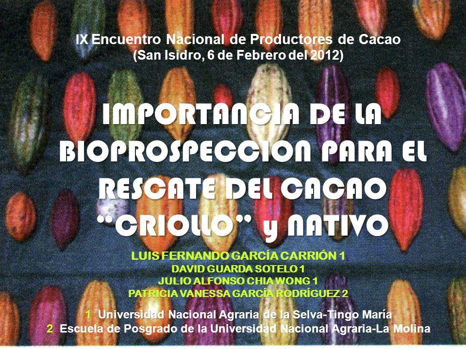 IX Encuentro Nacional de Productores de Cacao