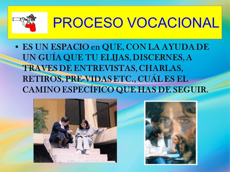PROCESO VOCACIONAL