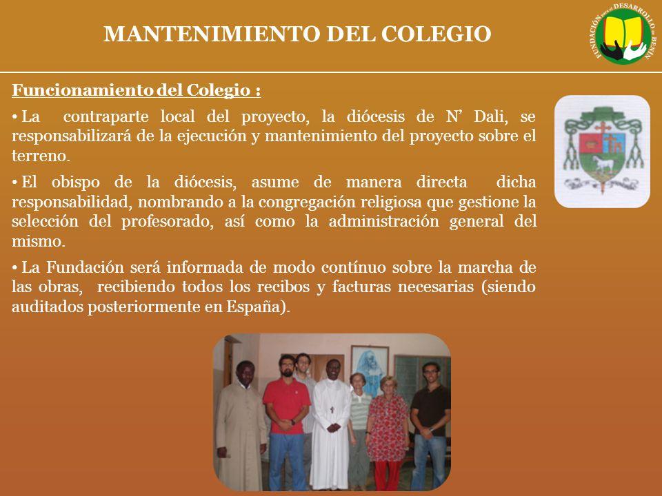 MANTENIMIENTO DEL COLEGIO