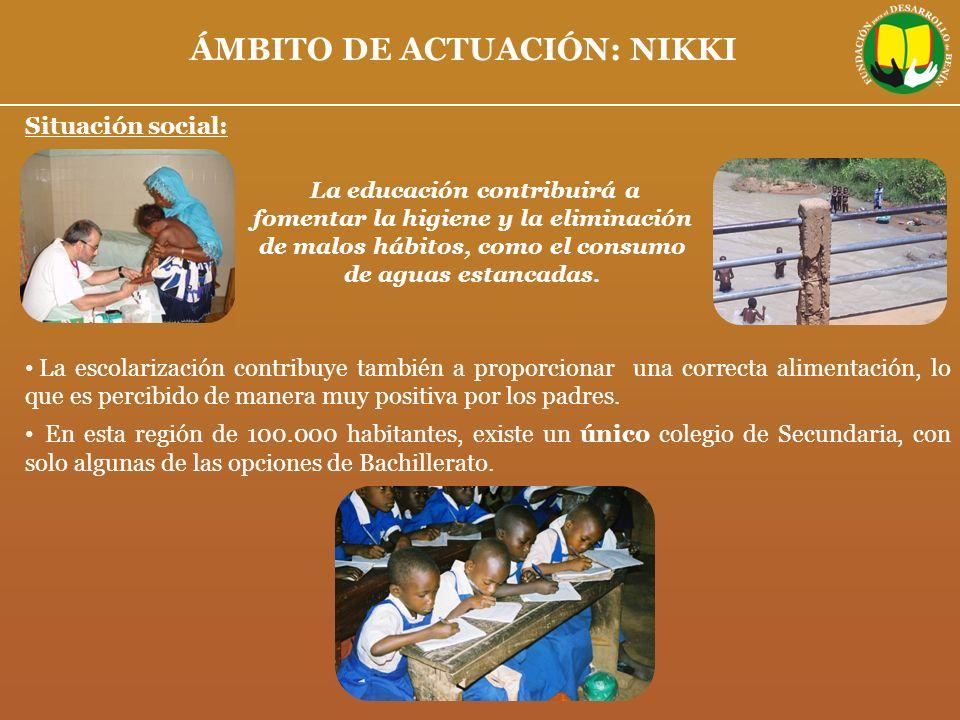 ÁMBITO DE ACTUACIÓN: NIKKI
