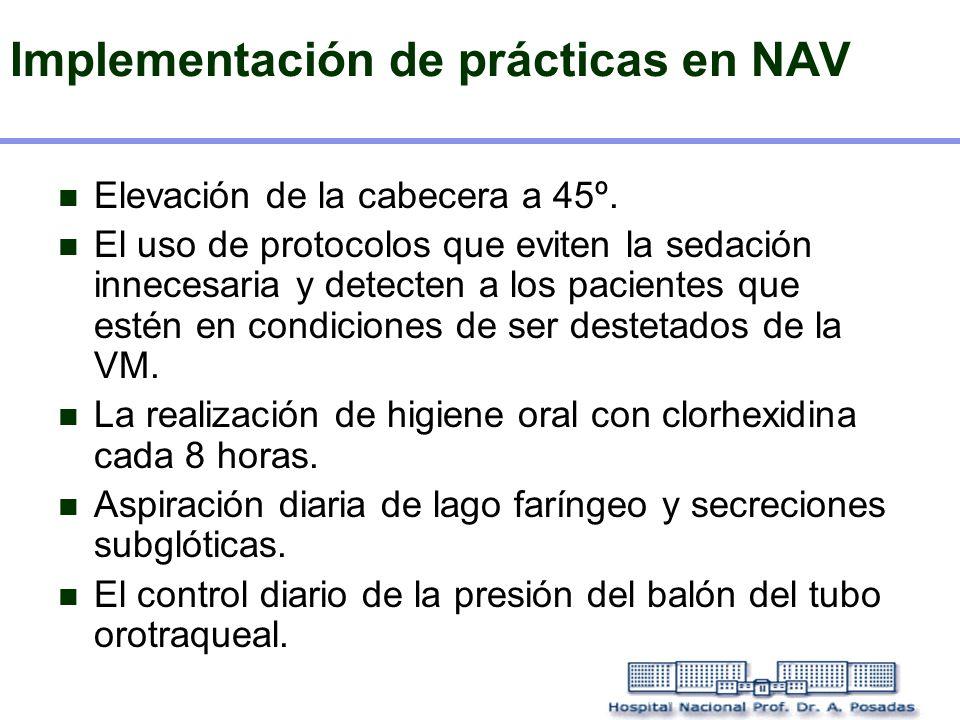 Implementación de prácticas en NAV