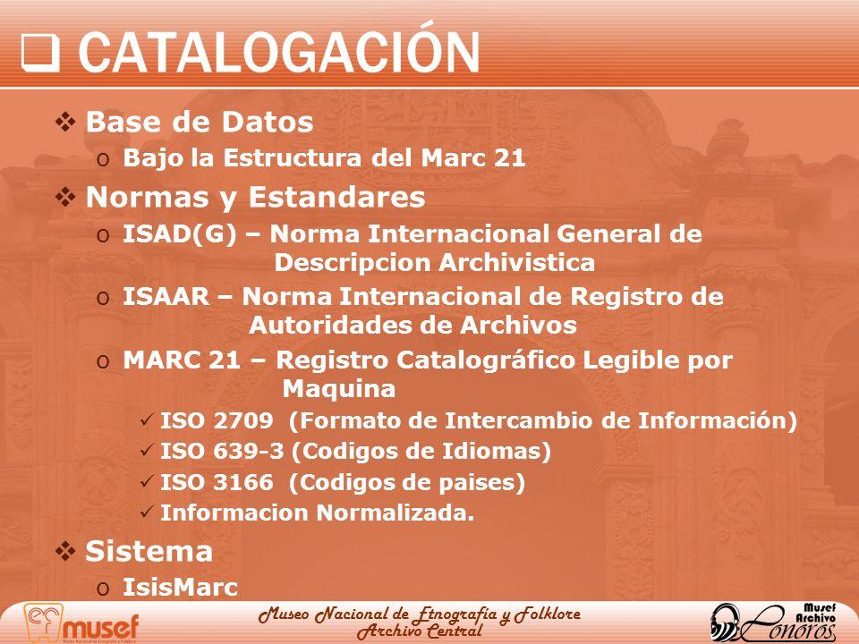 Museo Nacional de Etnografía y Folklore