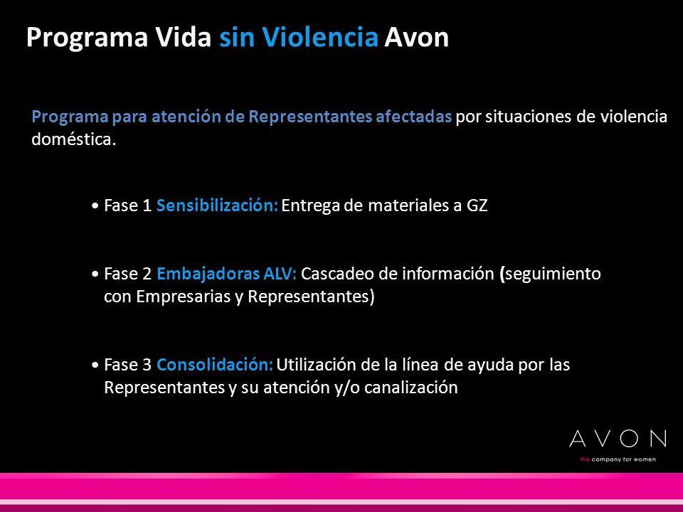 Programa Vida sin Violencia Avon