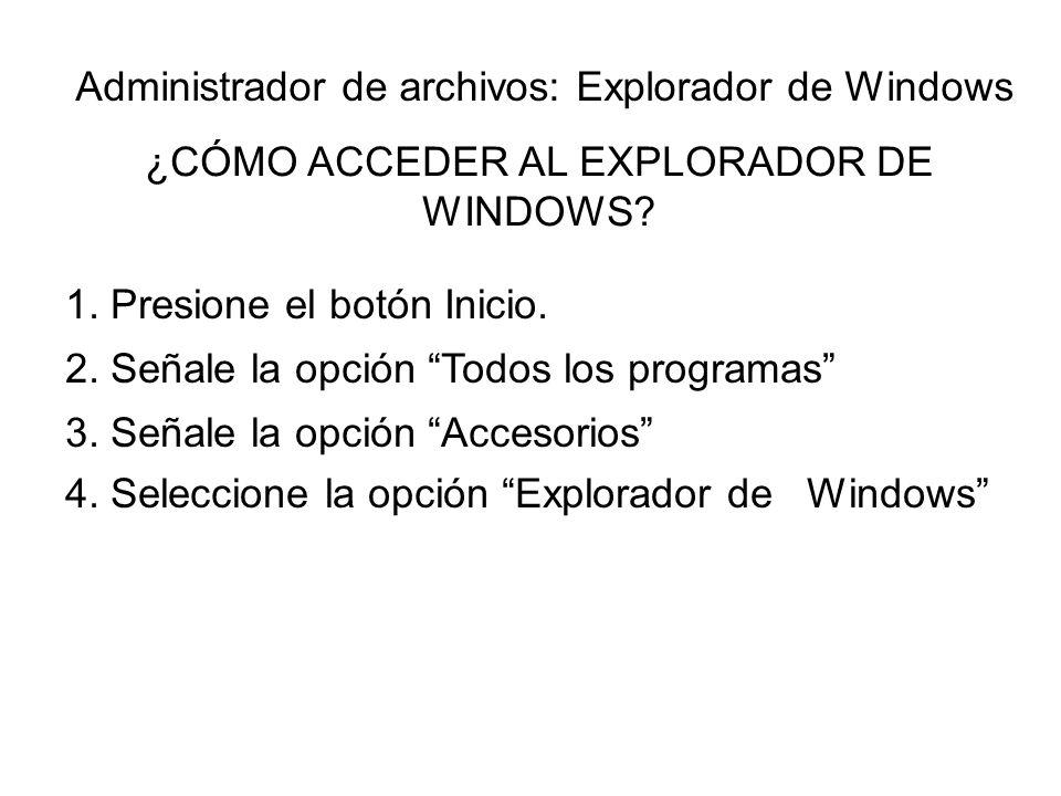 ¿CÓMO ACCEDER AL EXPLORADOR DE WINDOWS