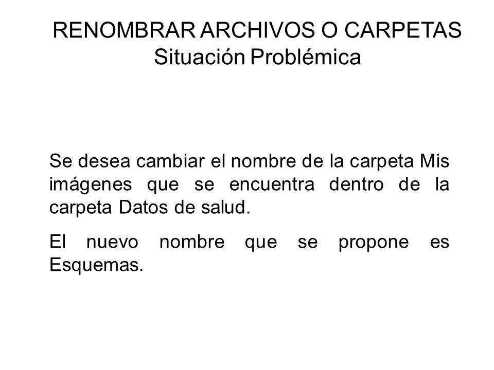 RENOMBRAR ARCHIVOS O CARPETAS