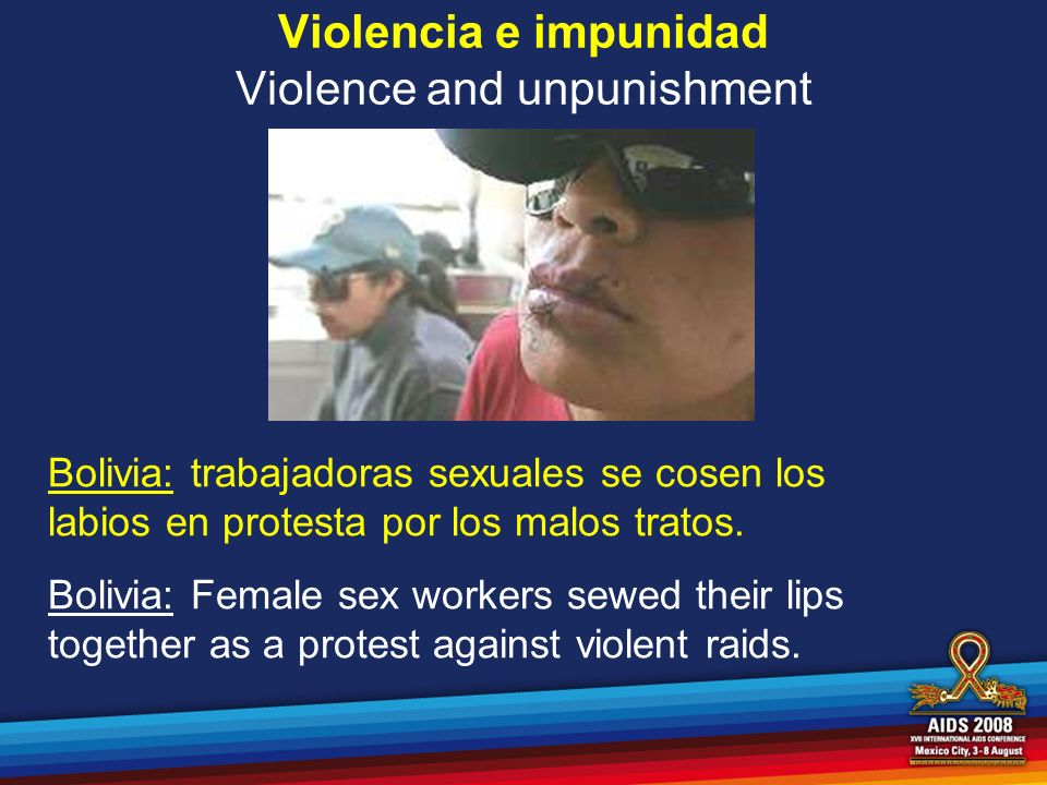 Violencia e impunidad Violence and unpunishment