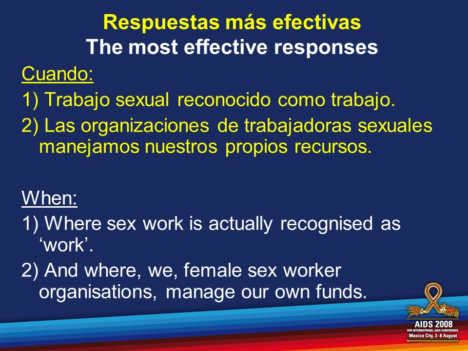 Respuestas más efectivas The most effective responses