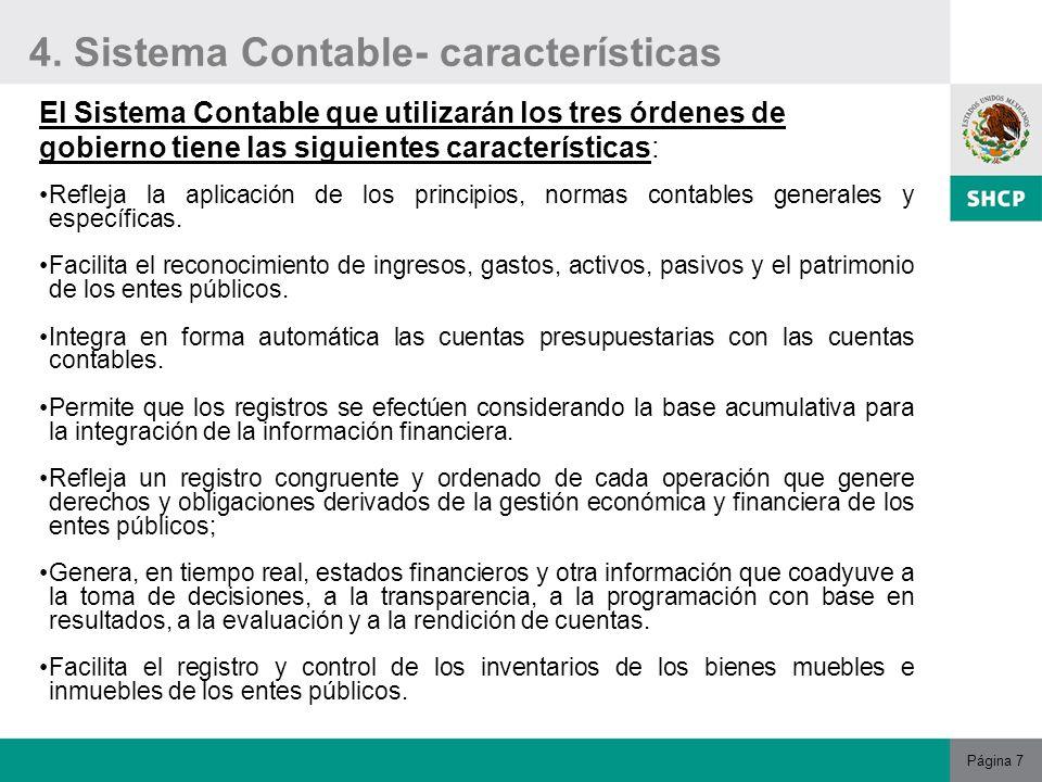 Ley general de contabilidad gubernamental ppt descargar for Registro de bienes muebles de navarra