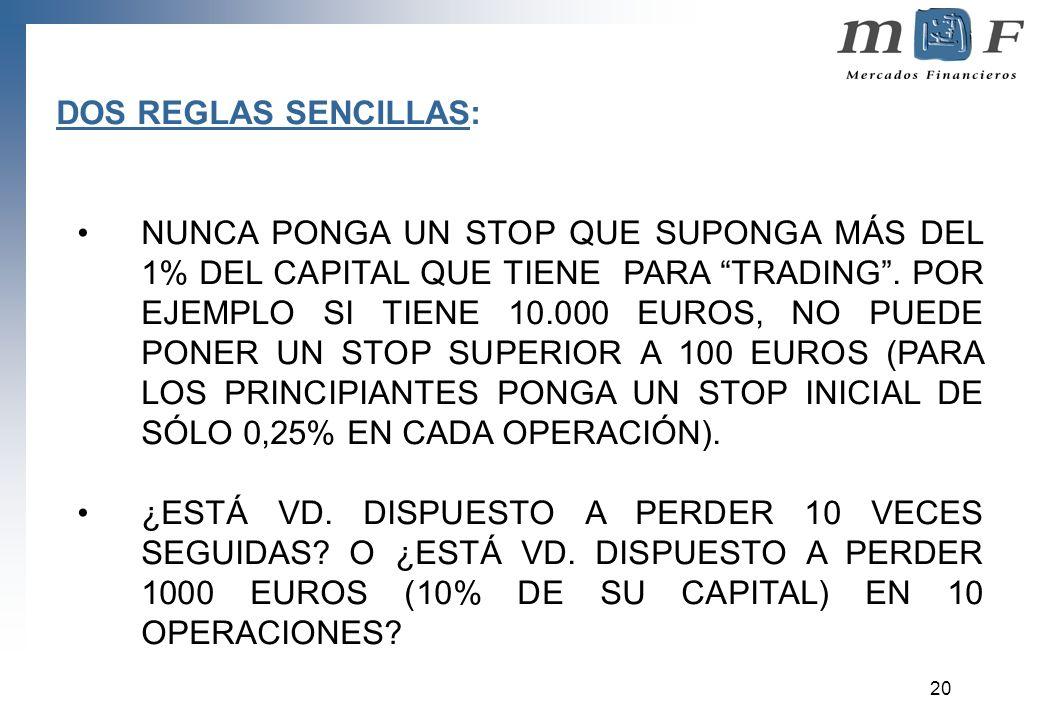 DOS REGLAS SENCILLAS: