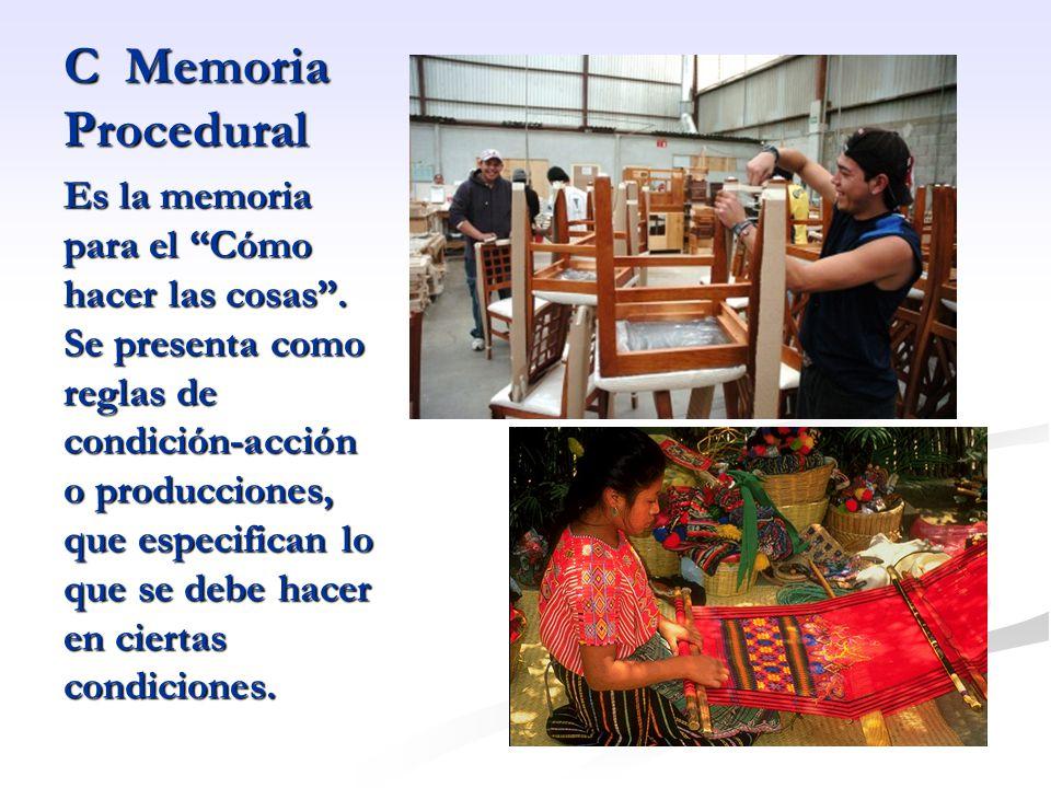 C Memoria Procedural