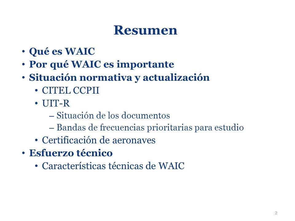 Resumen Qué es WAIC Por qué WAIC es importante