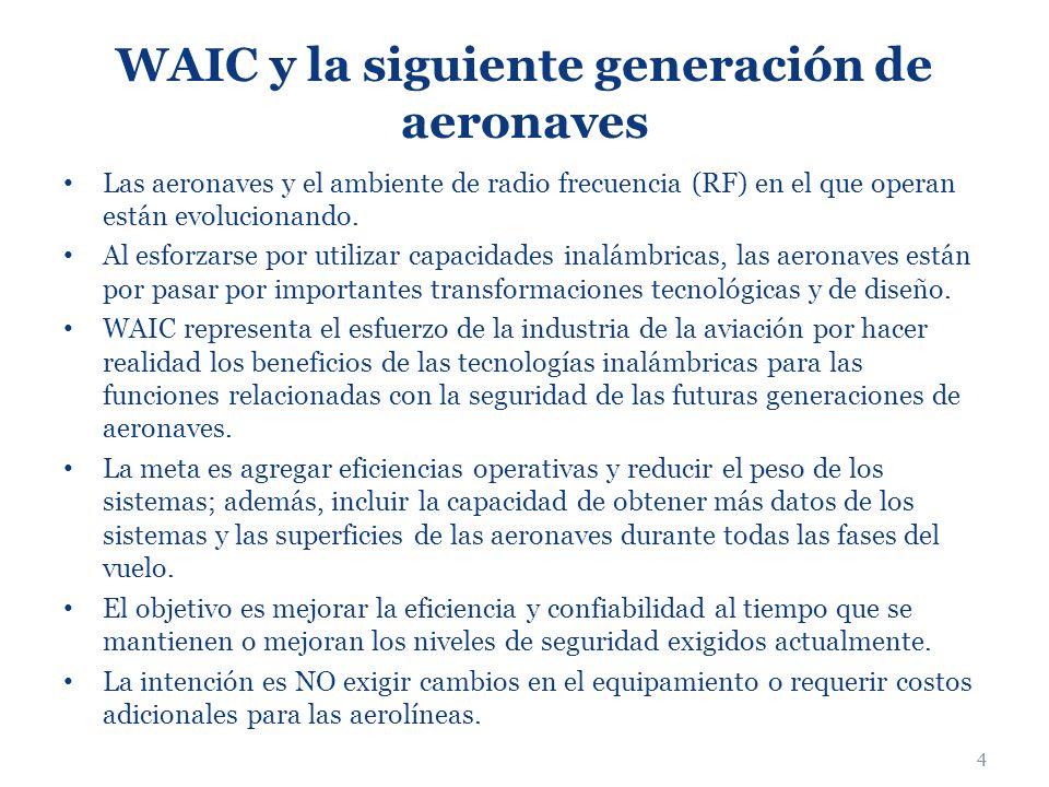 WAIC y la siguiente generación de aeronaves