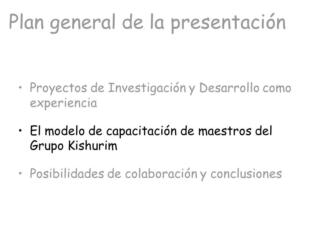 Plan general de la presentación