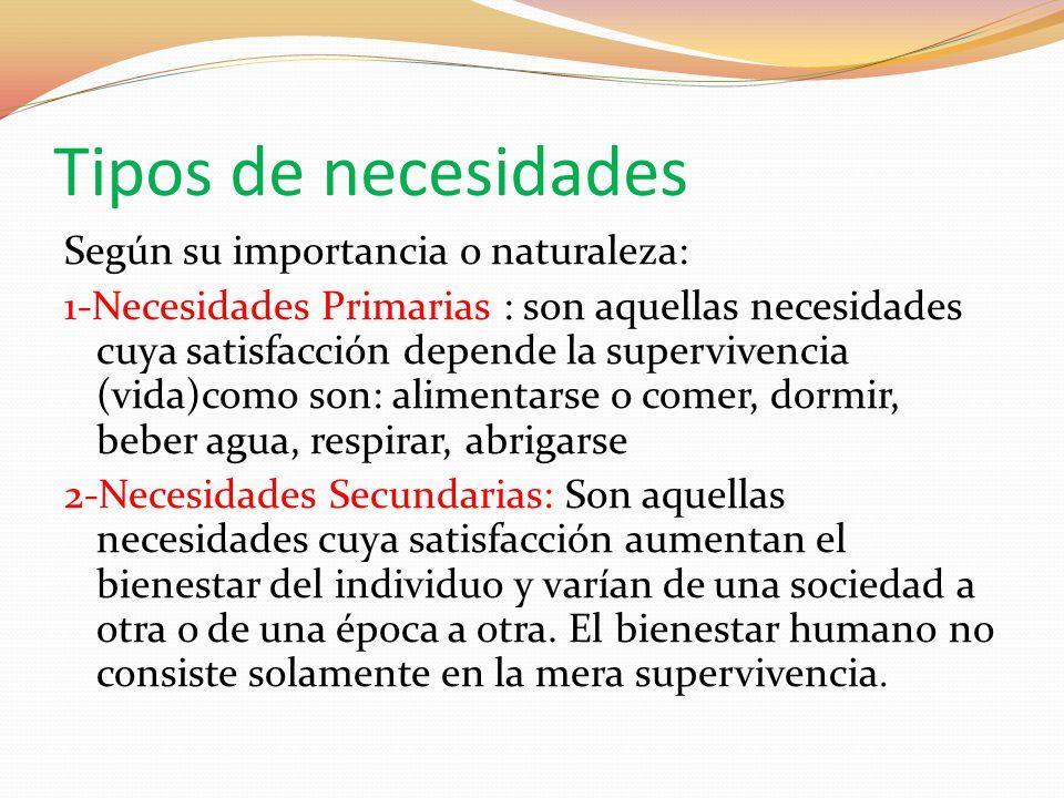 las necesidades y los bienes econ micos ppt descargar