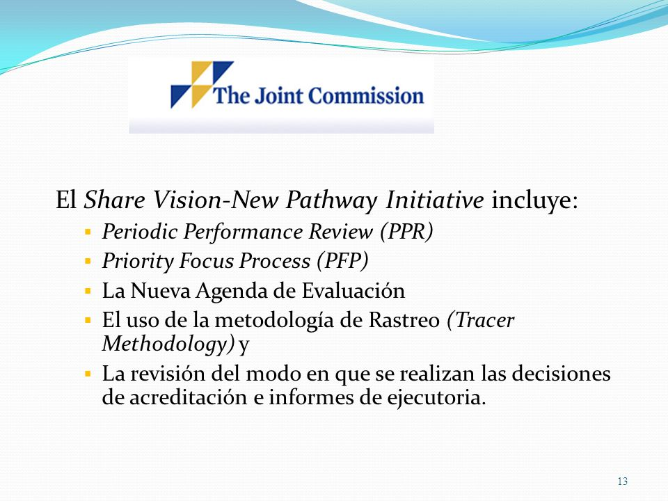 El Share Vision-New Pathway Initiative incluye: