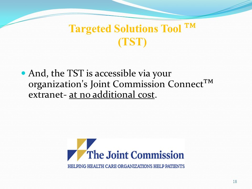 Targeted Solutions Tool ᵀᴹ (TST)