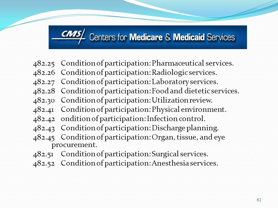 482. 25 Condition of participation: Pharmaceutical services. 482