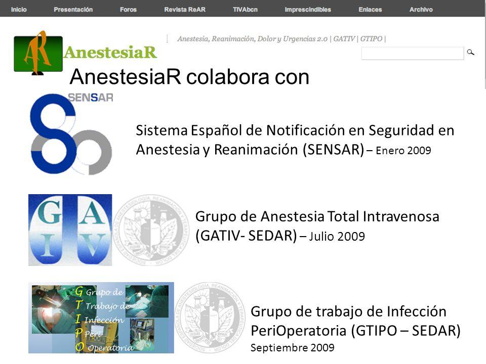 AnestesiaR colabora con