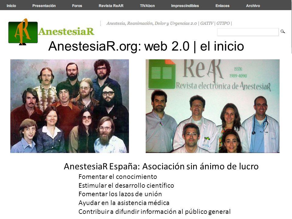 AnestesiaR.org: web 2.0 | el inicio