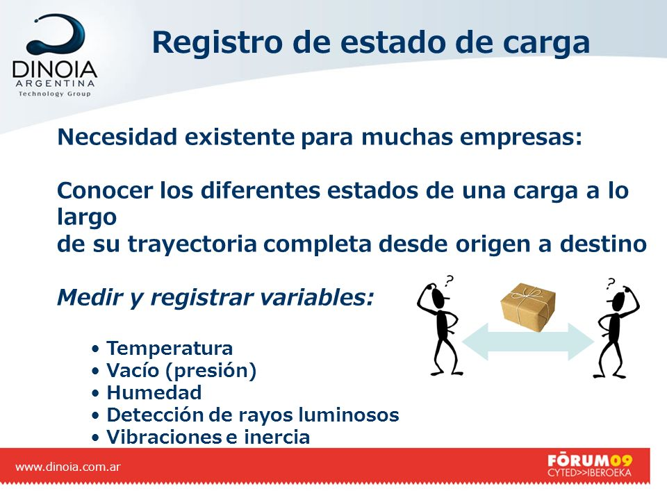 Registro de estado de carga