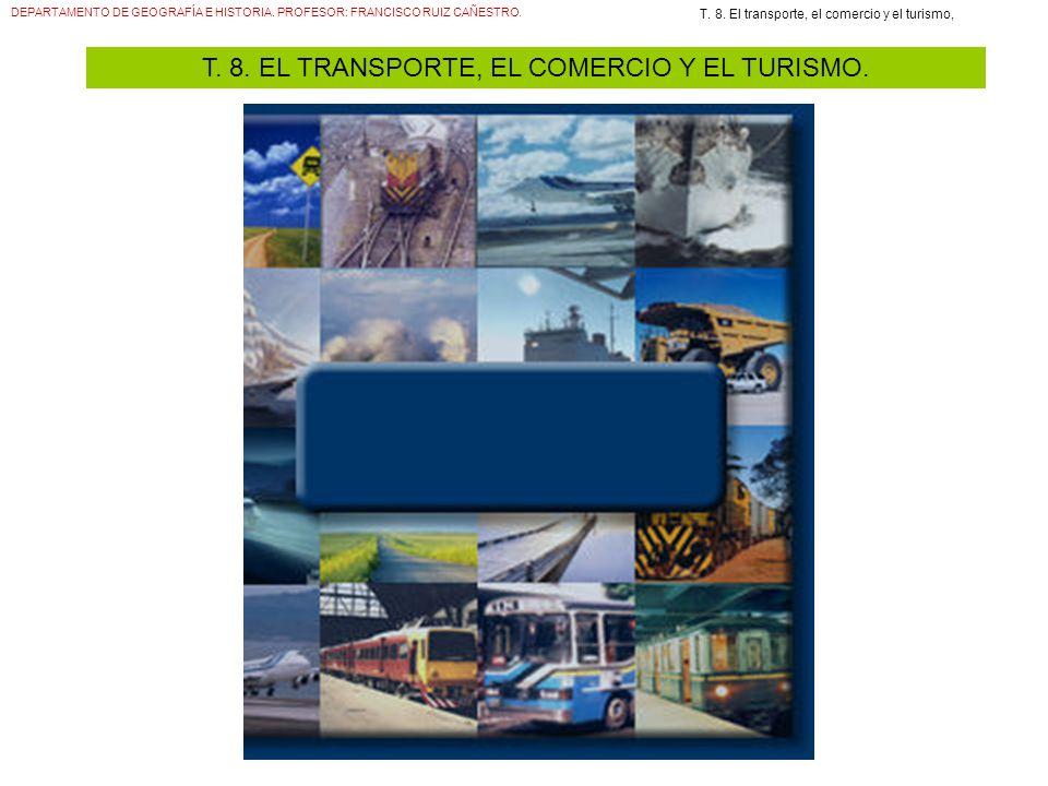 T. 8. EL TRANSPORTE, EL COMERCIO Y EL TURISMO.
