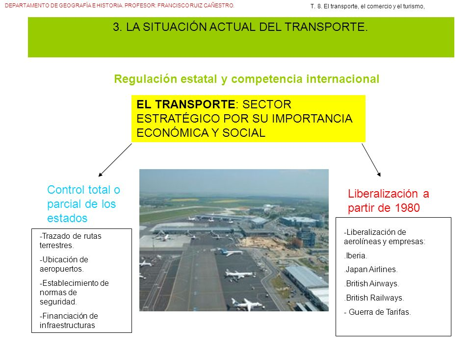 Regulación estatal y competencia internacional