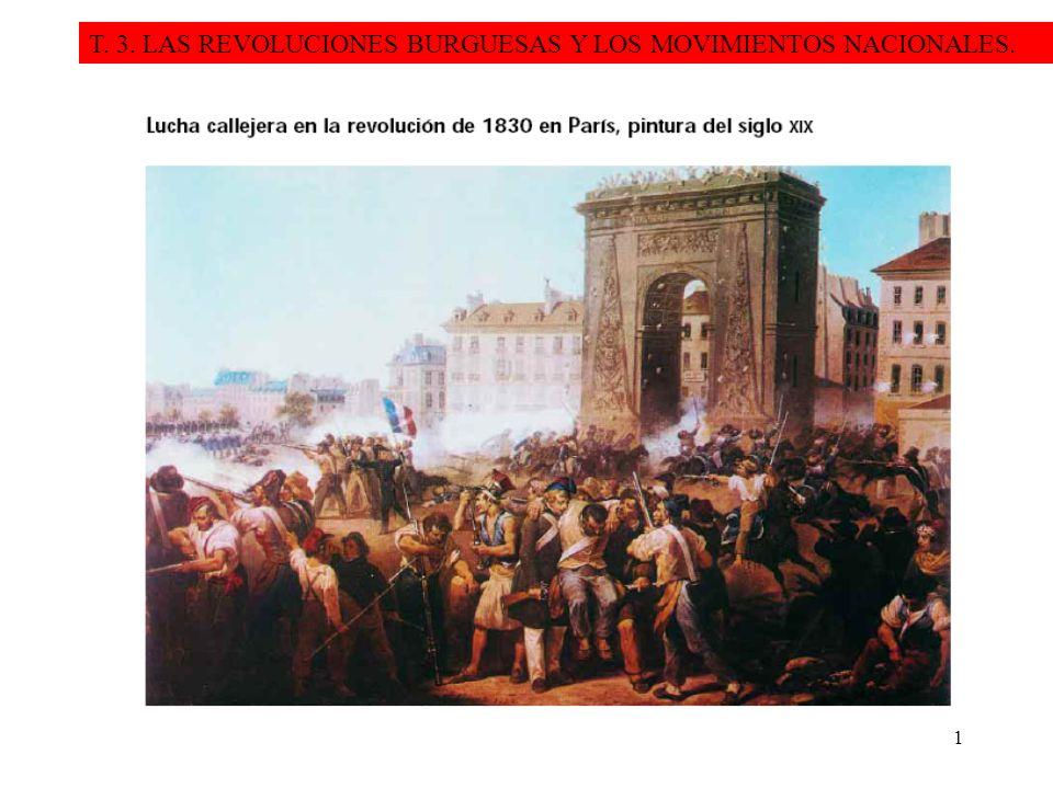 T. 3. LAS REVOLUCIONES BURGUESAS Y LOS MOVIMIENTOS NACIONALES.