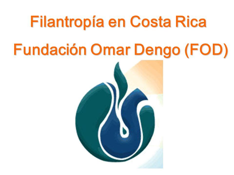 Filantropía en Costa Rica Fundación Omar Dengo (FOD)