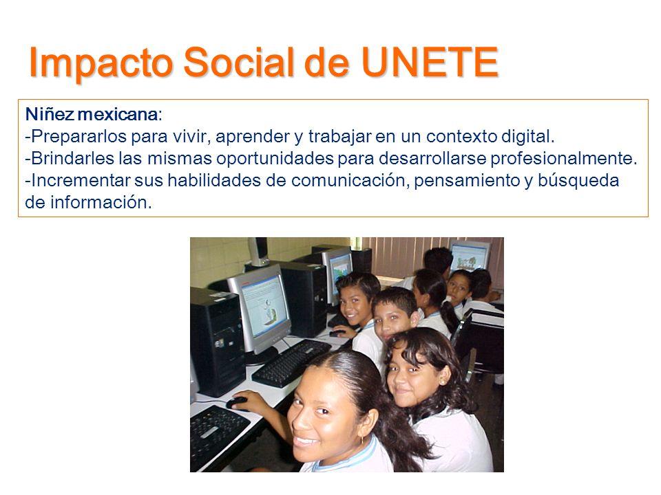 Impacto Social de UNETE