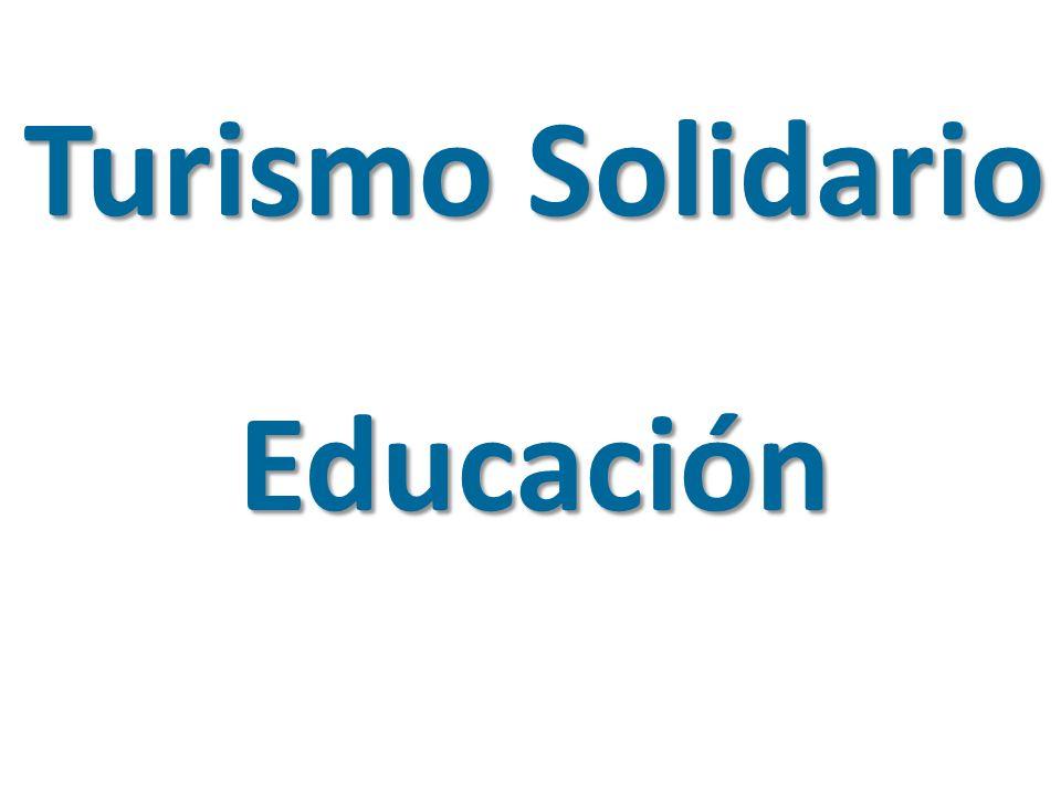 Turismo Solidario Educación