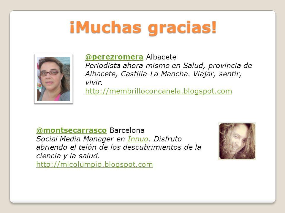 ¡Muchas gracias! @perezromera Albacete