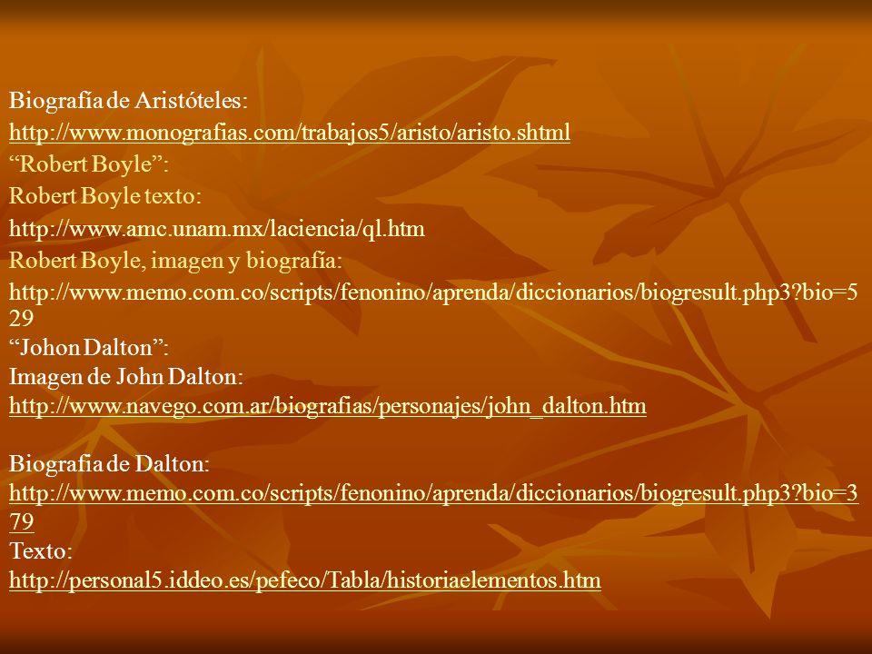 Biografía de Aristóteles: