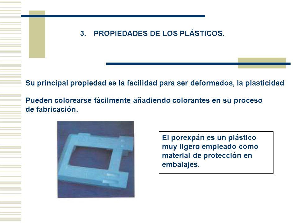 3. PROPIEDADES DE LOS PLÁSTICOS.