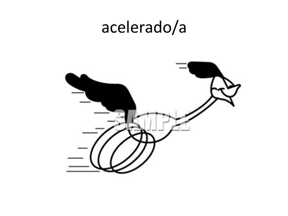acelerado/a