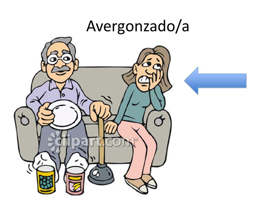 Avergonzado/a