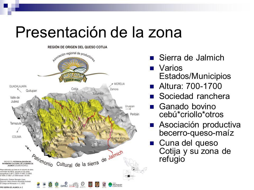 Presentación de la zona