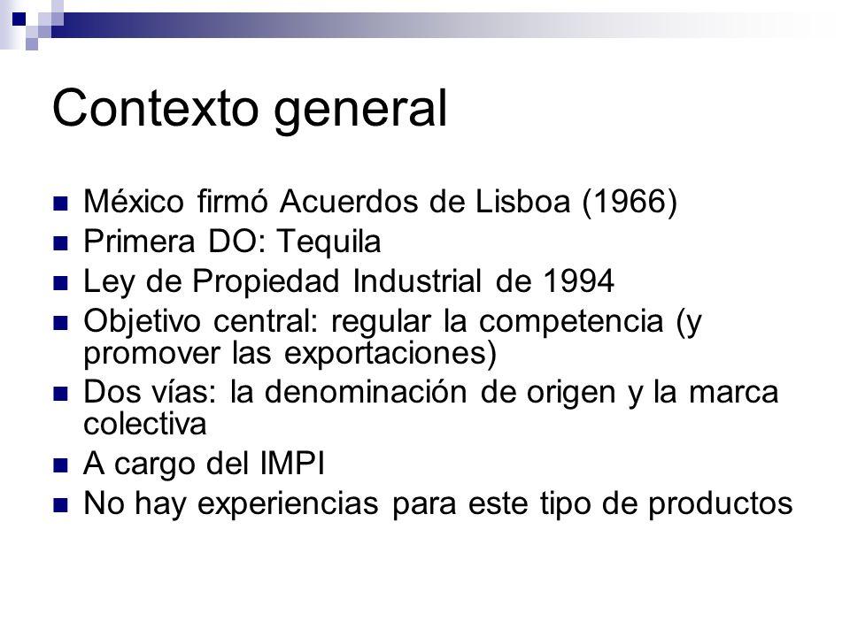 Contexto general México firmó Acuerdos de Lisboa (1966)