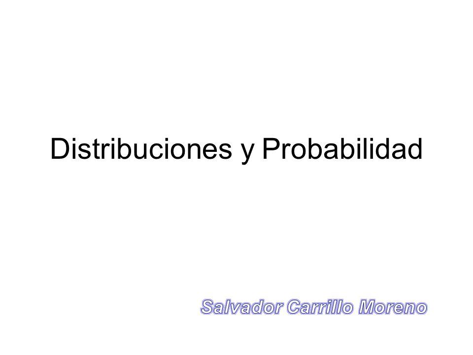 Distribuciones y Probabilidad