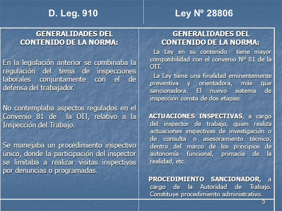 GENERALIDADES DEL CONTENIDO DE LA NORMA: