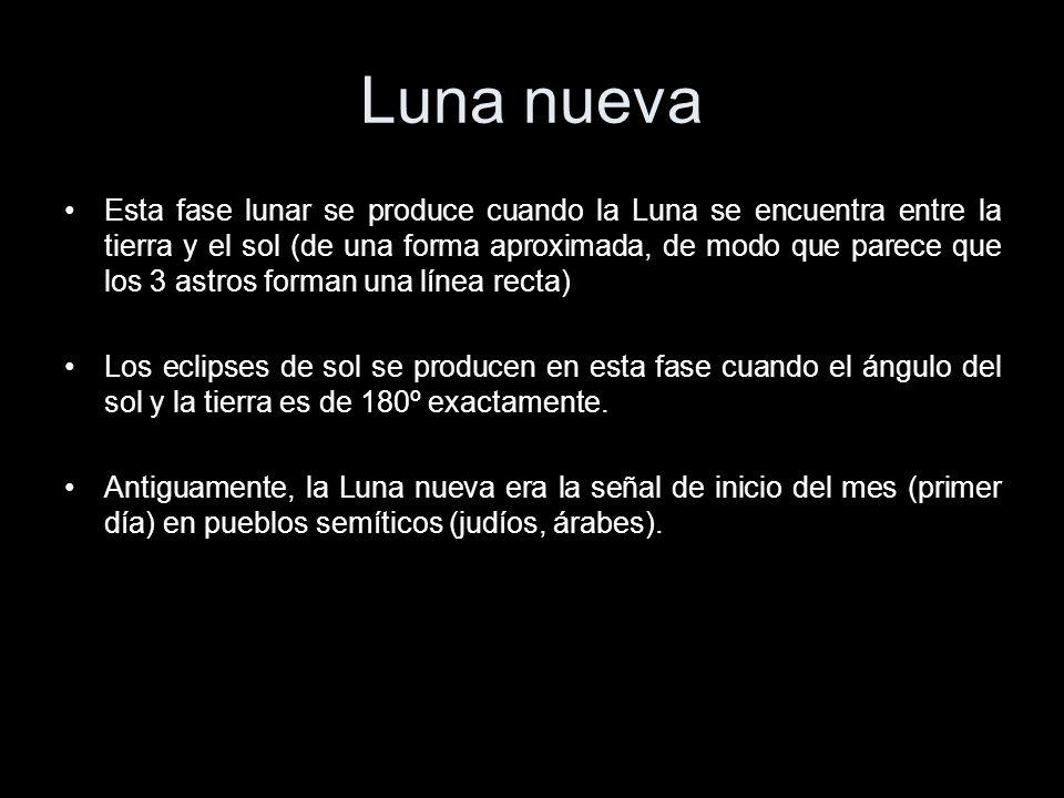 Eclipses y fases de la luna ppt video online descargar for Cuando es luna nueva