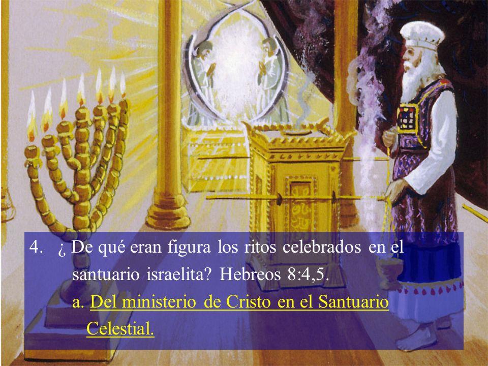 ¿ De qué eran figura los ritos celebrados en el