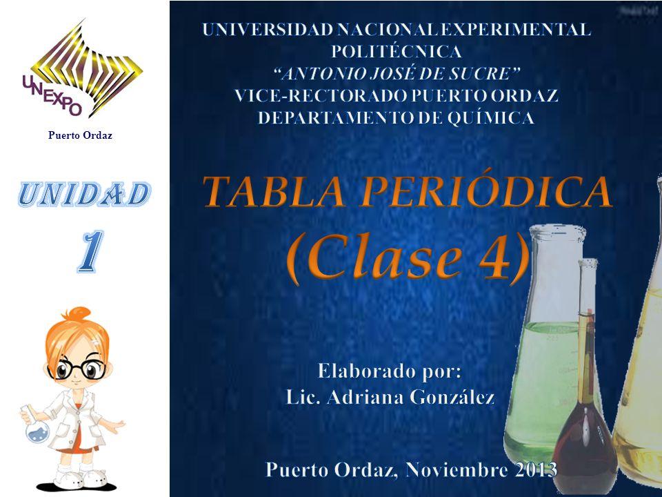 Clase 4 1 tabla peridica unidad elaborado por ppt video online clase 4 1 tabla peridica unidad elaborado por urtaz Gallery