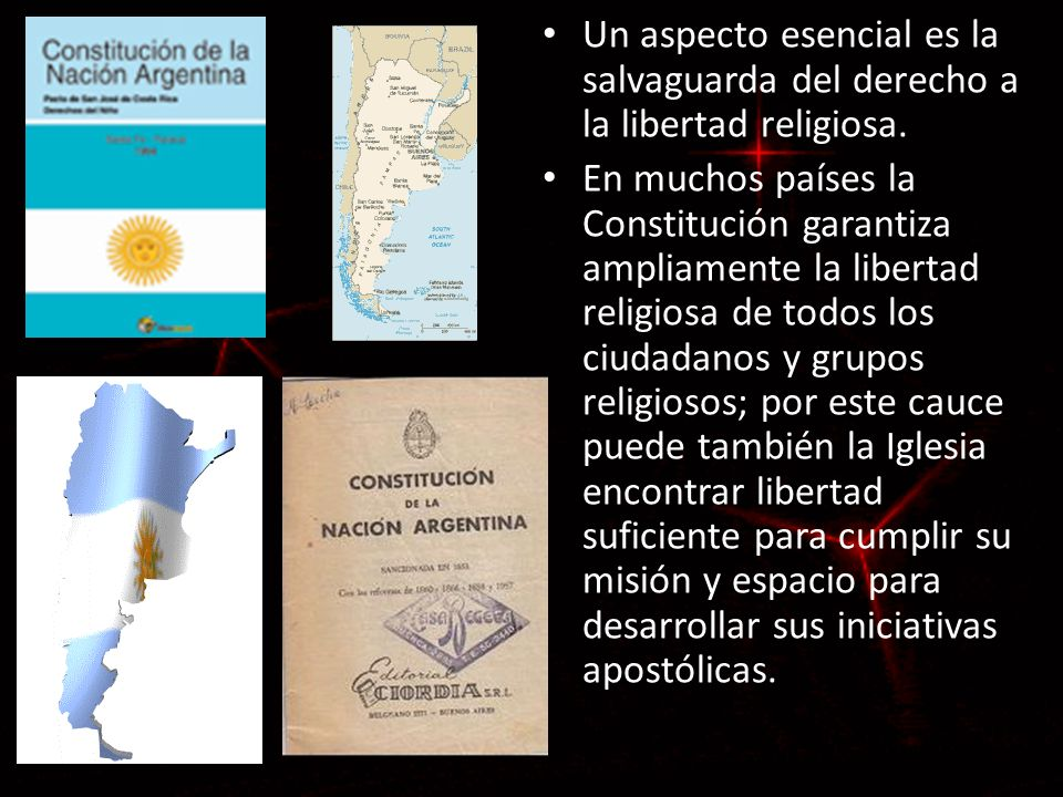 Un aspecto esencial es la salvaguarda del derecho a la libertad religiosa.